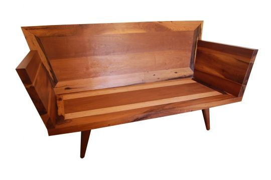 Banco De Demolição Modelo Conforto - Day Bed - 1,80 X 1,00 - Em Madeira Selecionada