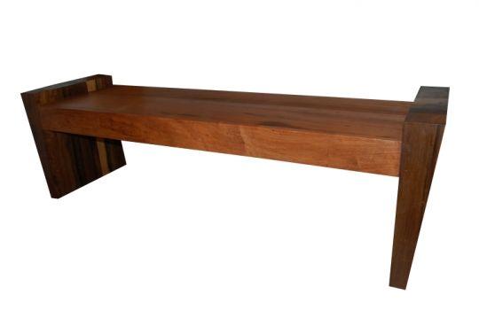 Banco De Demolição Modelo Trancoso - Em Demolição Maciço selecionado - incluso futon
