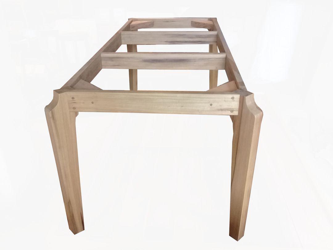 Base de Mesa de Jantar de Demolição Modelo Sampa - Para Tampo de 2,00 X 1,00 - Em madeira Selecionada