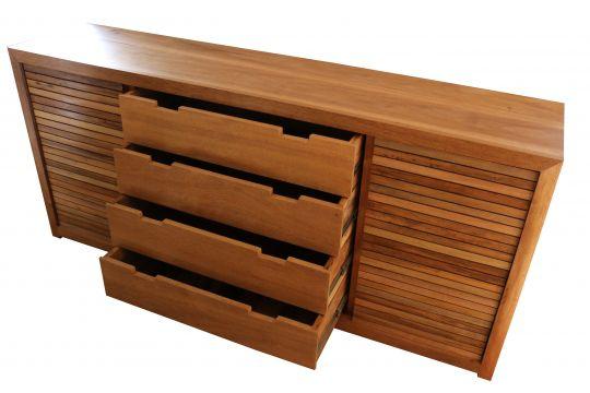 Buffet De Demolição Modelo Itabira - 1,60 x 50 x 90 - Em Madeira Selecionada