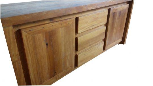 Buffet De Demolição Modelo Ouro Preto - 1,80 X 45 X  90 - Em Madeira Selecionada