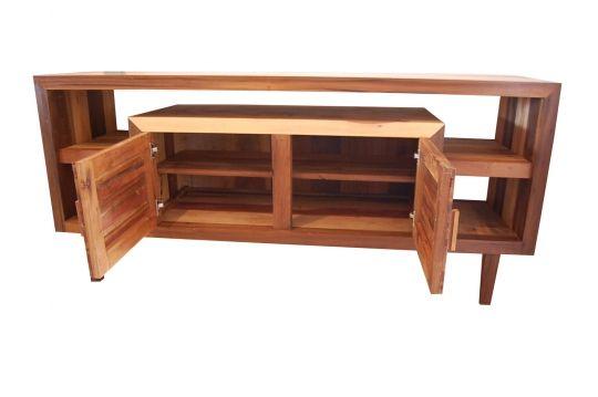 Buffet De Demolição Modelo Ouro Fino - 1,80 X 45 X 80 - Em Madeira Selecionada