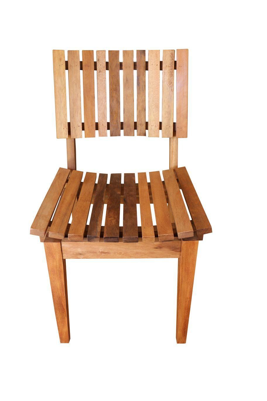 Cadeira De Demolição Modelo Ergonômica - Em Madeira Selecionada