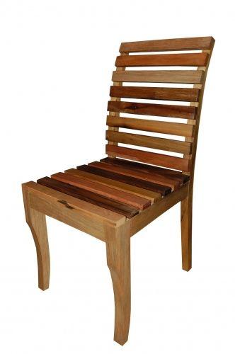 Cadeira De Demolição Modelo Brasil - Em Madeira Selecionada