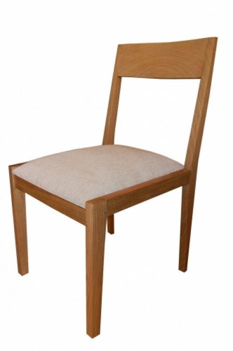 Cadeira De Demolição Modelo Olinda - Com Assento Estofado - Em Madeira Selecionada