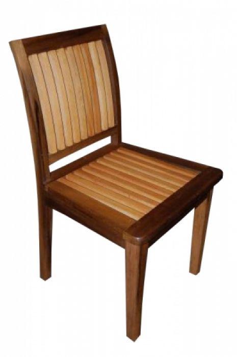 Cadeira De Demolição Modelo Ripa - Em Madeira Selecionada