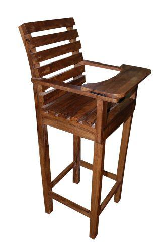 Cadeira Para Criança De Demolição Modelo Conforto - Em Madeira Selecionada