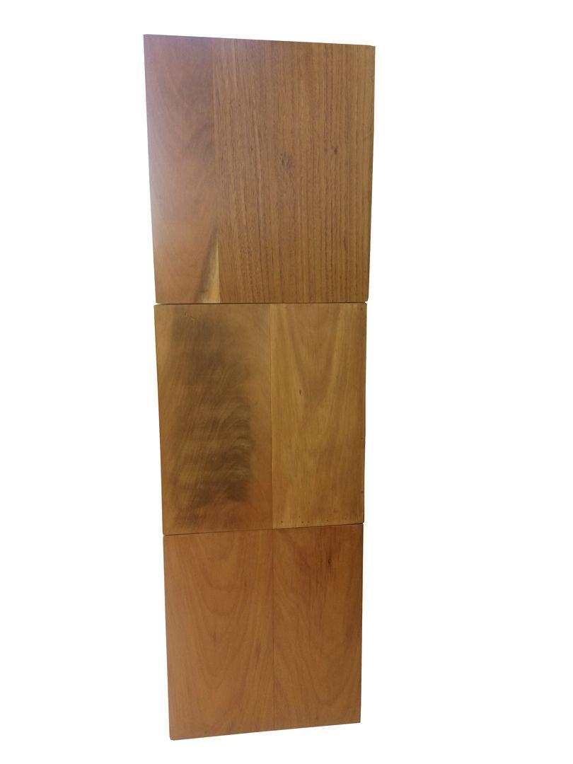 Conjunto de 03 Nichos de Demolição Modelo Gerais - 0,45 X 0,35 X 0,45 - Em Madeira Selecionada