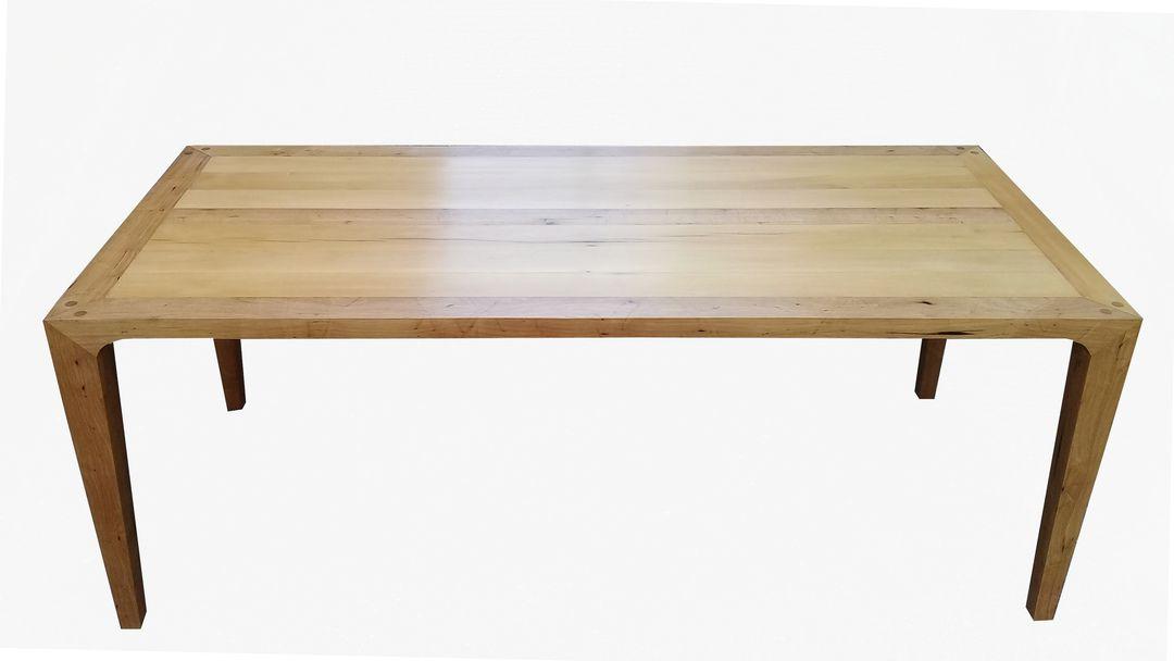 Mesa de Jantar De Demolição Retangular Modelo Leme - Em Madeira Selecionada