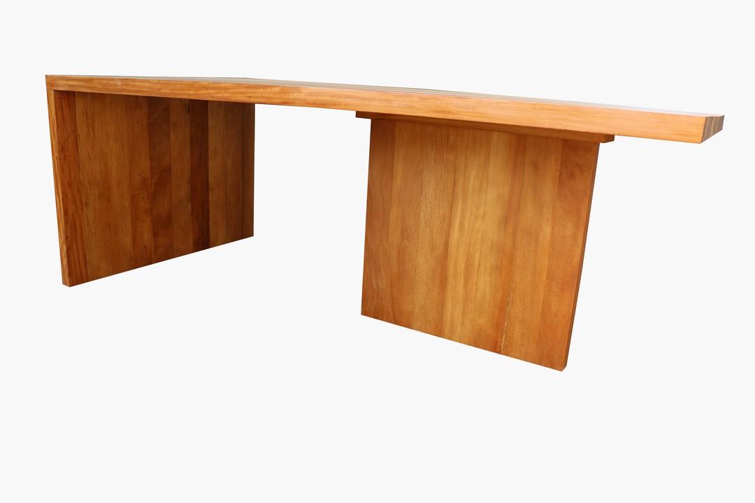 Mesa de Jantar de Demolição Retangular Modelo Marajó - Em Madeira Selecionada