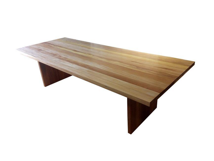 Mesa De Jantar Retangular De Demolição Modelo Santarém - 2,50 X 1,10 X 0,76 - Em Madeira Selecionada