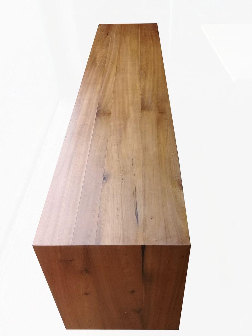 Rack De Demolição Modelo Alvorada - 2,20 X 0,45 X 0,70 - Com 04 Portas em Palhinha Natural