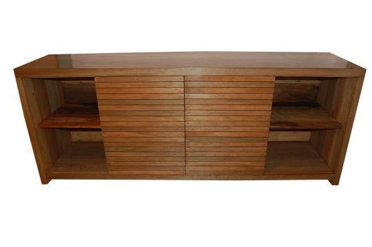 Rack De Demolição Modelo Pitangui - 2,00 X 50 X 80 - 08 Gavetas - Portas De Correr - Em madeira Selecionada