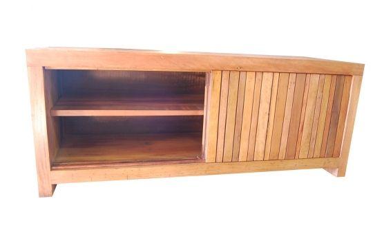 Rack De Demolição Modelo Ubá - 1,80 X 45 X 55 - Com Portas de Correr - Em Madeira Selecionada