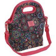 Bolsa Termica feminina floral rosa Teen Xeryus ref 8412
