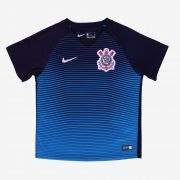 Camisa Nike Corinthians III Azul 2016/2017 Torcedor Infantil