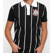 Camisa Polo Corinthians Team Way