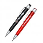 Kit com duas canetas do Flamengo 12 furos