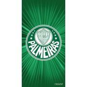 Toalha Palmeiras Banho Veludo Estampada 207317