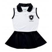 Vestido Polo Infantil Botafogo Torcida Baby