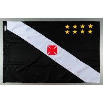 Bandeira Mastro Mitraud Vasco da Gama de 1 Pano a 4 Panos