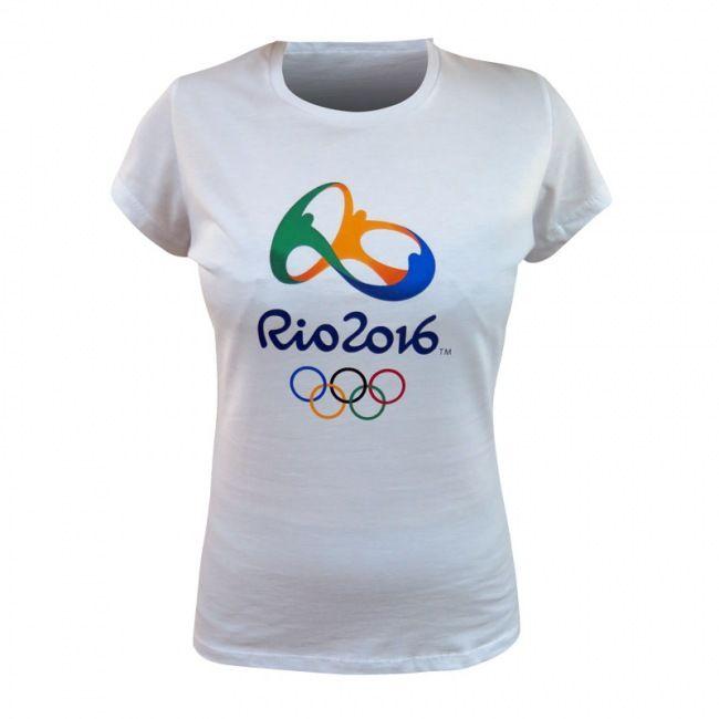 Baby look Algodão Souvenir jogos Olímpicos Rio 2016