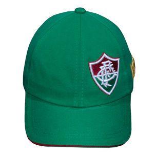 Boné  Fluminense Liga Retrô Aba Curva Verde 1902