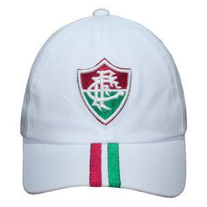Boné  Fluminense Futebol Liga Retrô Aba Curva Snapback BR faixa tricolor