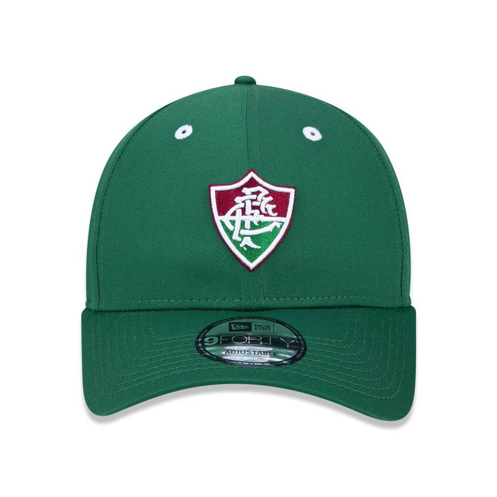 Boné  Fluminense Futebol Aba Curva Snapback Verde New Era 940