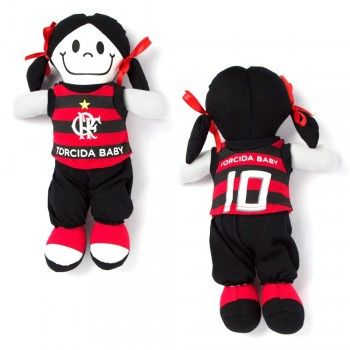 Boneca Flamengo Torcida Baby