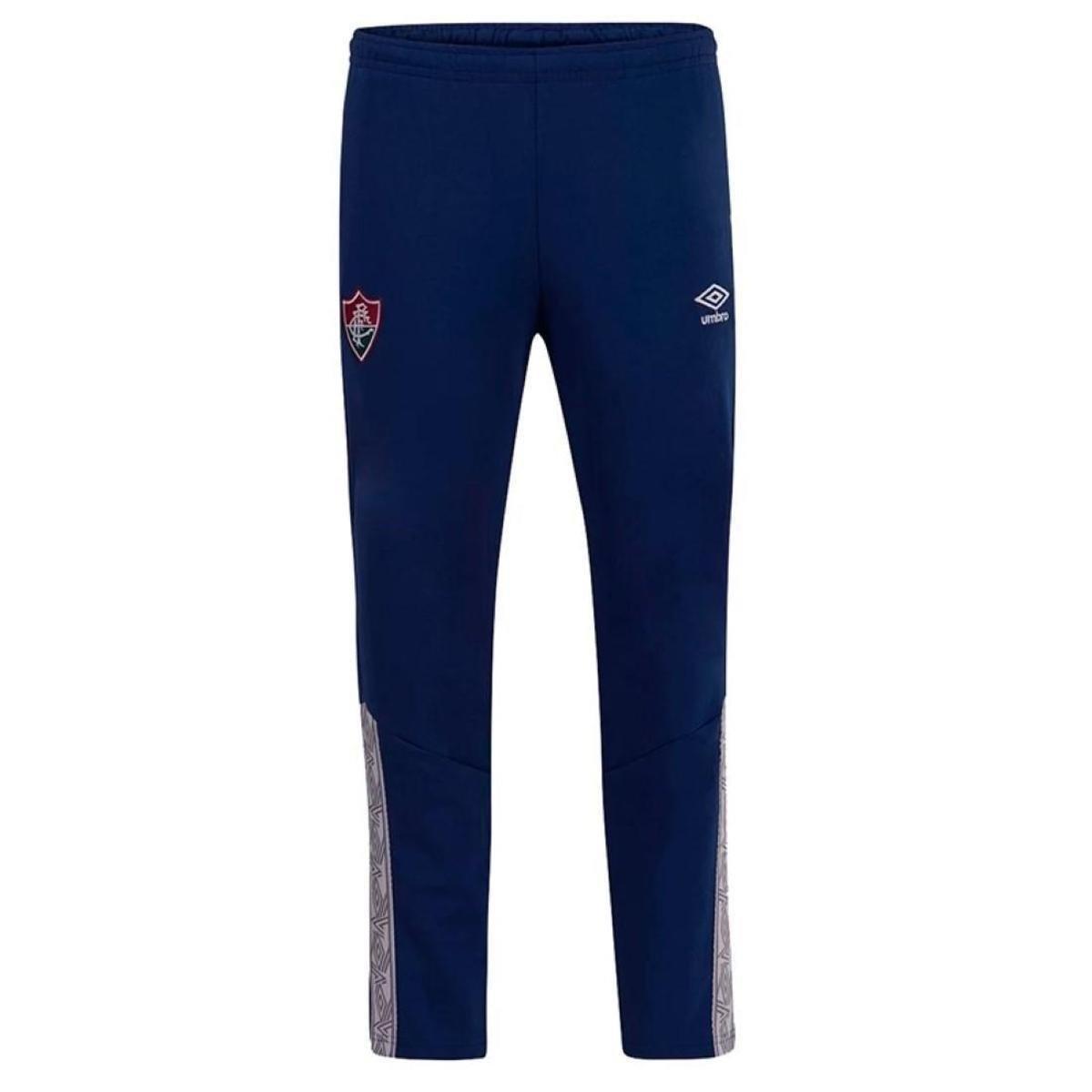 Calça Fluminense Viagem Umbro 2020  Azul