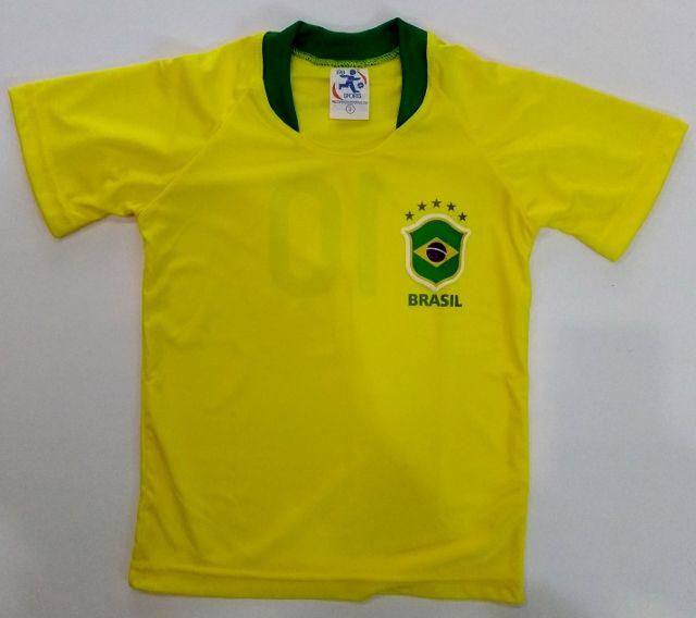 Camisa Brasil Infantil