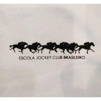 Camisa Escola Jockey Clube Brasileiro com Manga