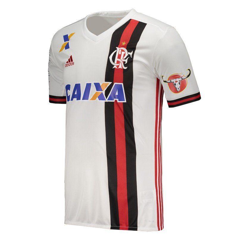 Camisa Flamengo Oficial Jogo 2 Adidas 2017