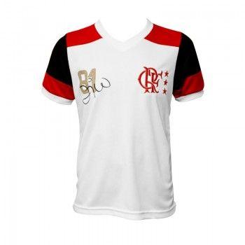 Camisa Flamengo Zico Campeão Mundial 81 Infantil