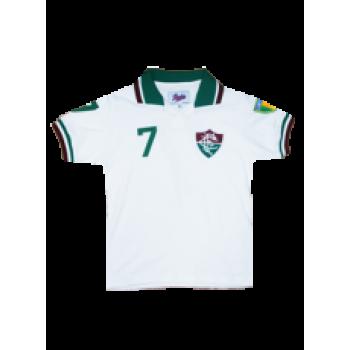 Camisa Fluminense 1984 Infantil Manga Curta