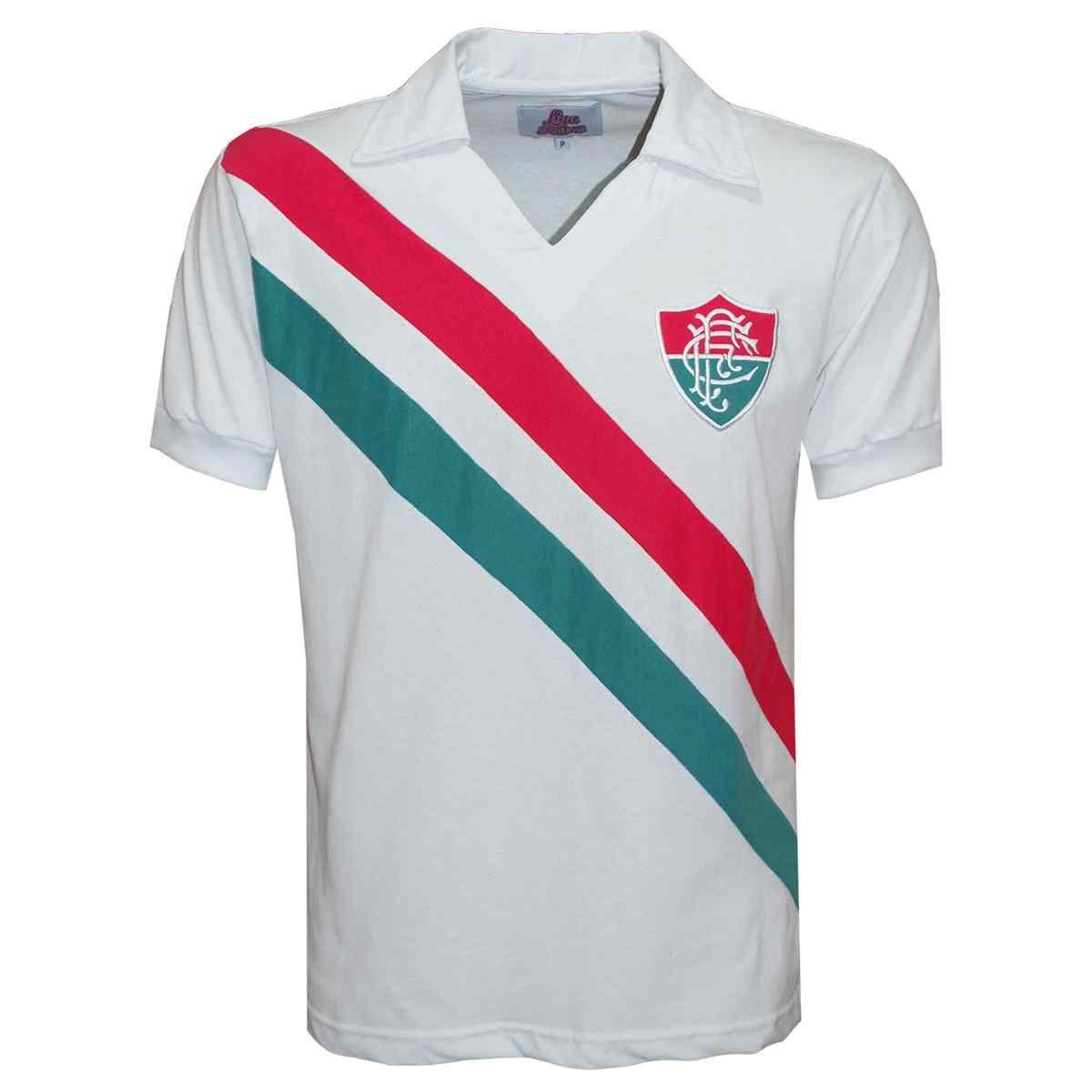 Camisa Fluminense 69 Liga Retrô  Infantil, Feminina e Masculina
