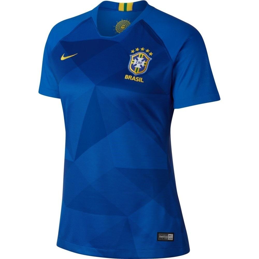 Camisa Nike Brasil II CBF 2018/19 Torcedor Masculina Azul