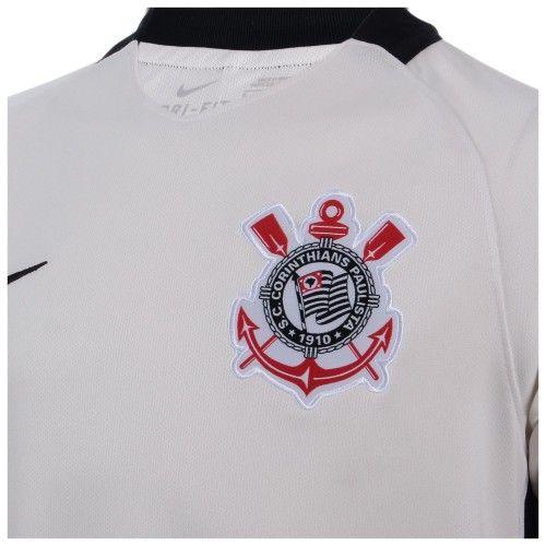 Camisa Nike Corinthians I Branca 2016/2017 Torcedor Adulto