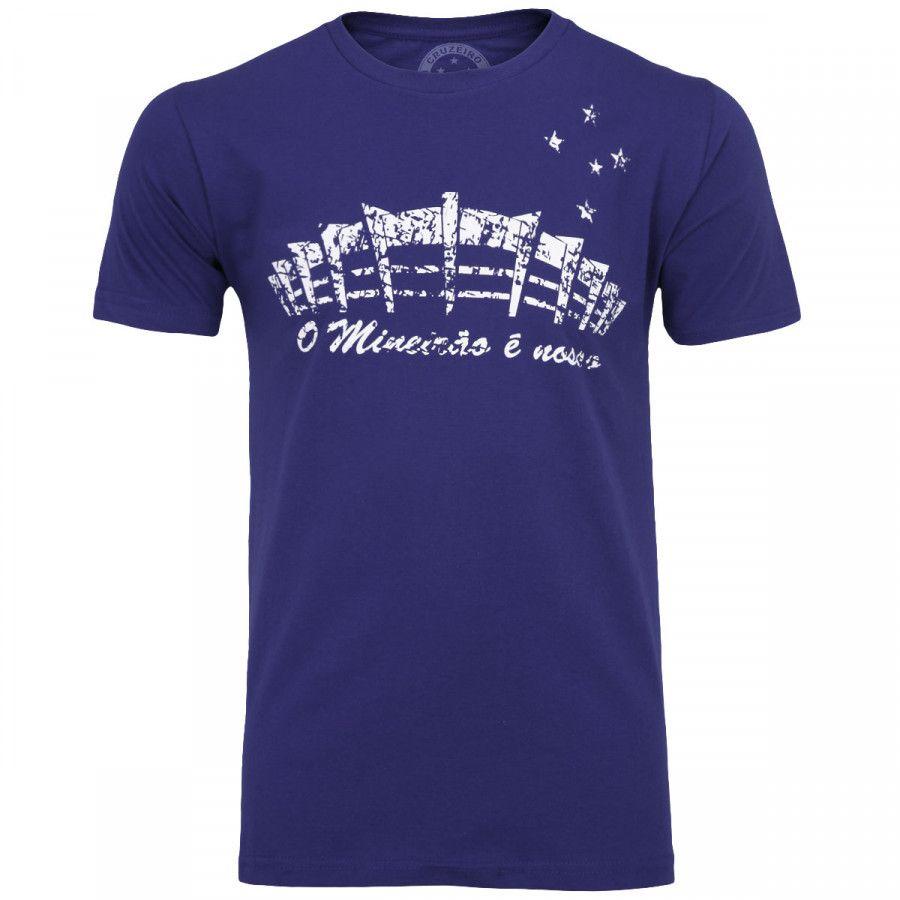 Camisa Cruzeiro O Mineirão É Nosso  Cód 75075