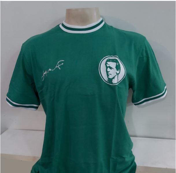 Camisa Palmeiras Ademir da Guia Liga Retrô