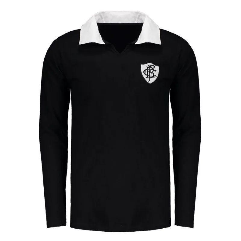 Camisa Polo Botafogo Retrô Manga Longa