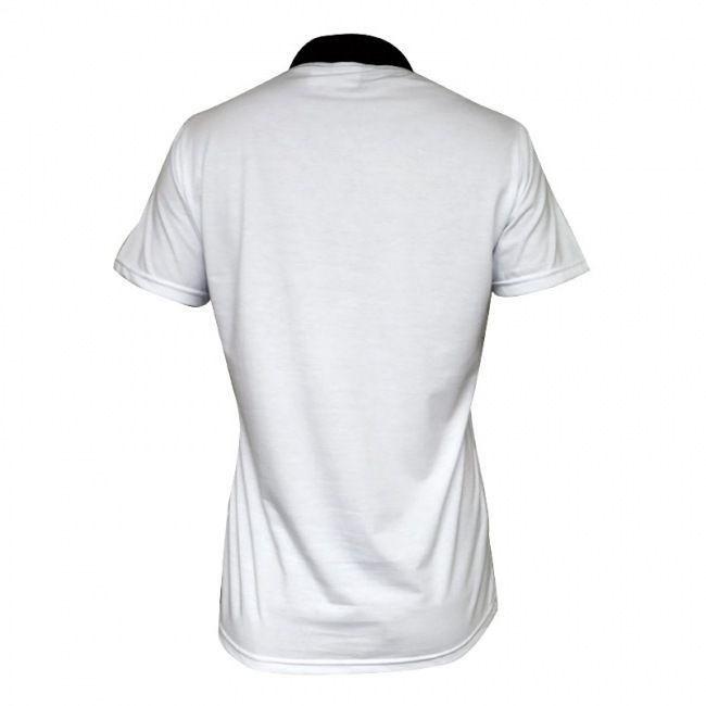 Camisa Polo Botafogo Puma Viagem 2015 Branca / Preta