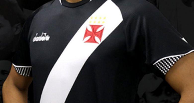 Camisa Preta Torcedor Vasco Diadora 2018