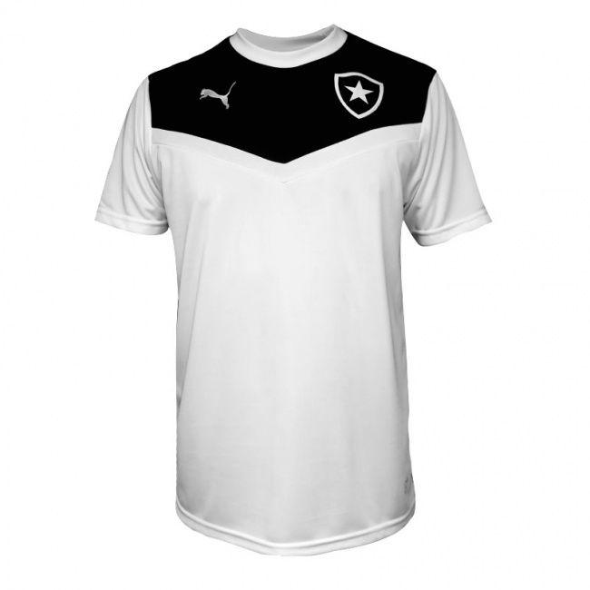 Camisa Puma Botafogo Treino 2015 Branca / Preta