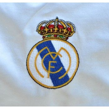 Camisa Retromania Real Madrid home 1986 Algodão
