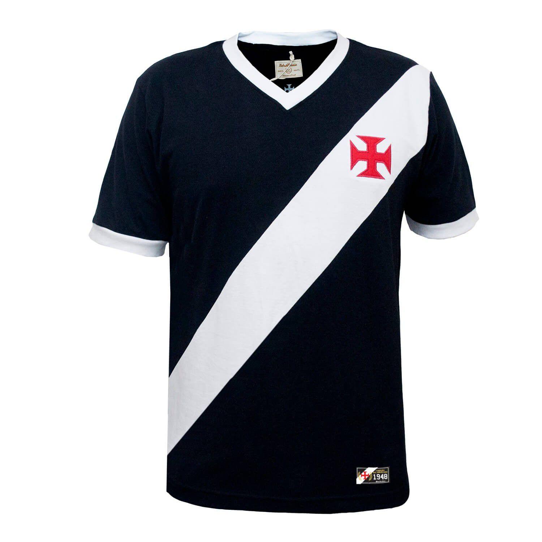 Camisa Vasco da Gama Preta Retromania 1948