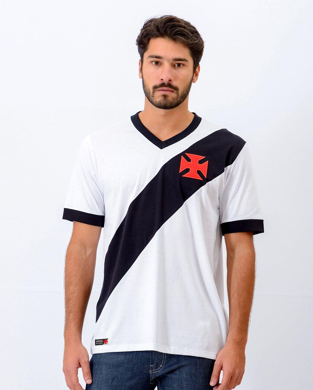 Camisa Vasco Expresso Branca Algodão