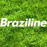 Camiseta Braziline Pictograma Olimpíada Adulto Azul Royal Algodão