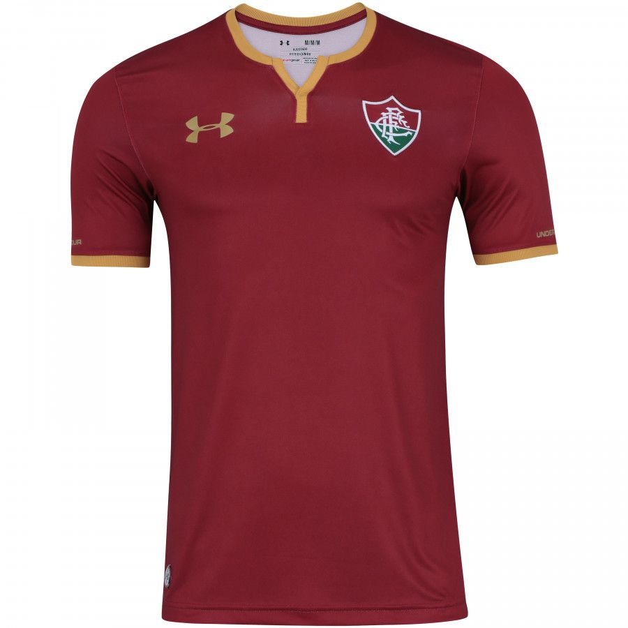Camiseta Fluminense 3 2017 Under Armour Grená Adulto Torcedor